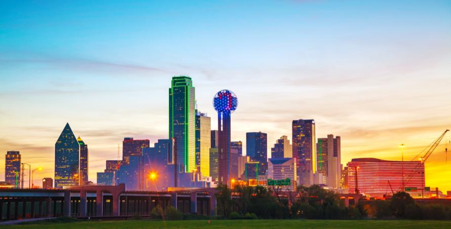 service area for DFW Tree Services - Dallas, Texas